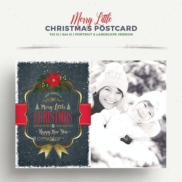 Christmas Greeting Card/Postcard