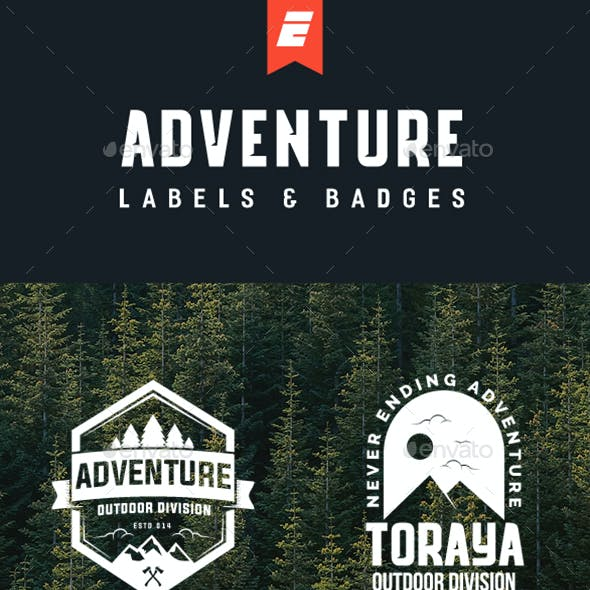 Adventure Logo and Badges