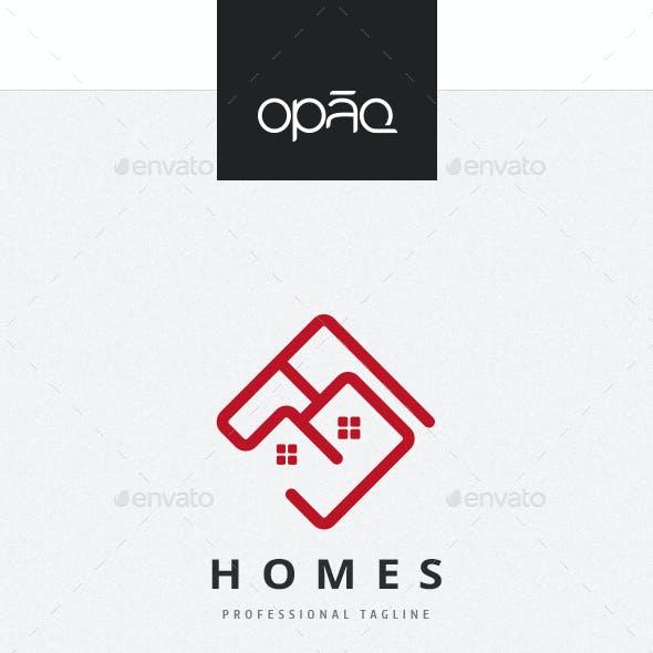 Homes Neighborhood Logo