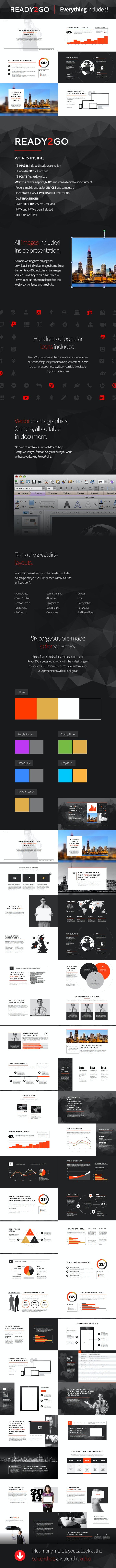 Ready2Go Professional PowerPoint Template - Business PowerPoint Templates
