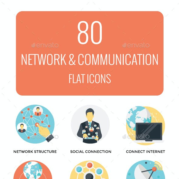 80 Networking and Communication Icon
