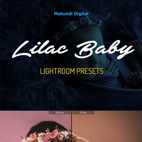 28 Lilac Baby Children Lightroom Presets