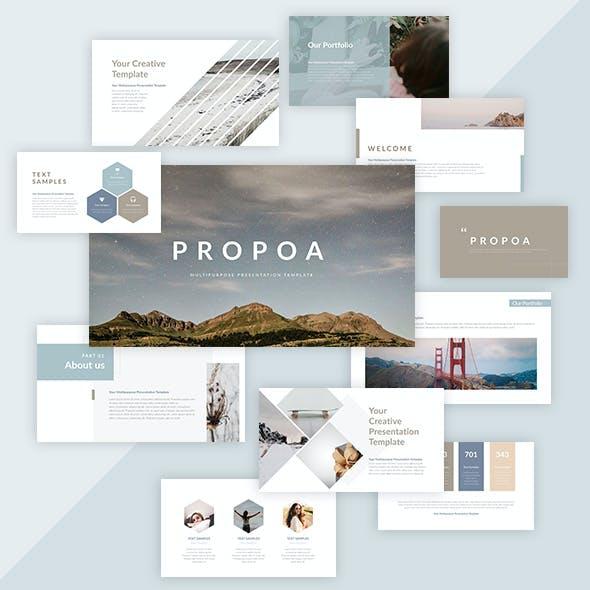 Propoa - PowerPoint Presentation Template