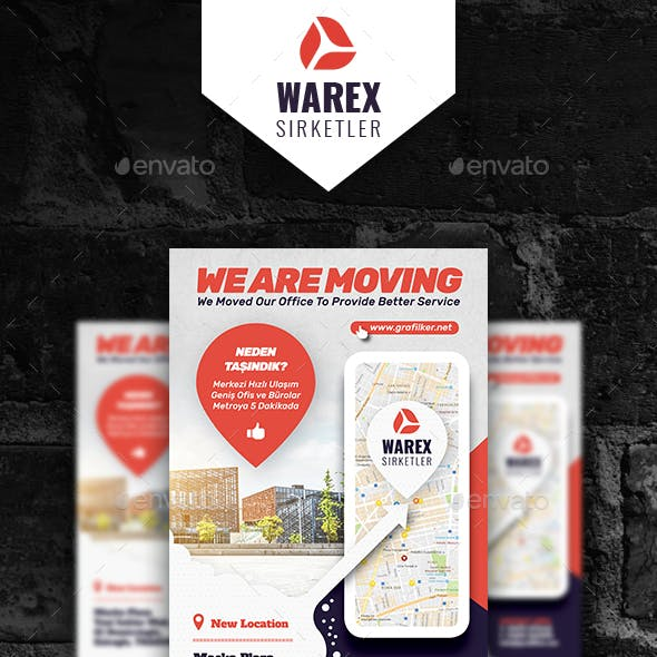 Moving Office Poster Templates