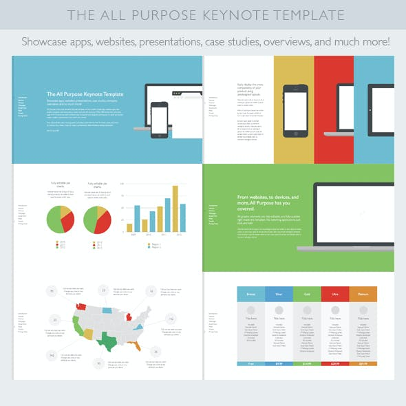 Flat All Purpose Keynote Template