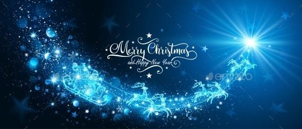 Magic Star with Santa Claus - Christmas Seasons/Holidays