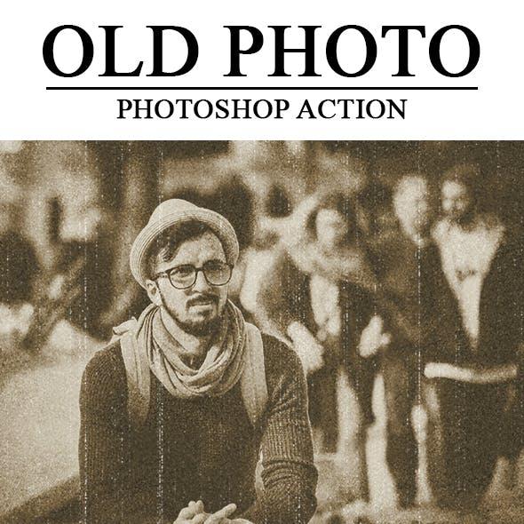 Old Photo Photoshop Action