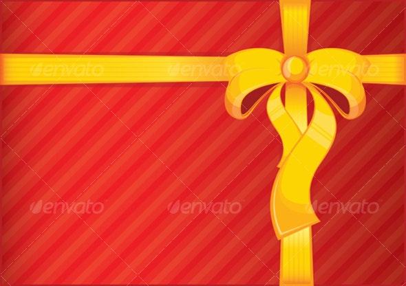 Present ribbon - Seasons/Holidays Conceptual