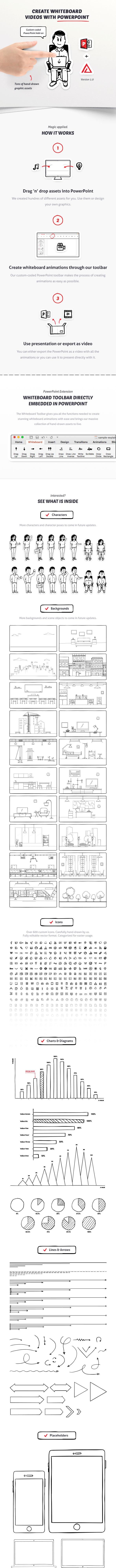Whiteboard PowerPoint Toolkit - PowerPoint Templates Presentation Templates