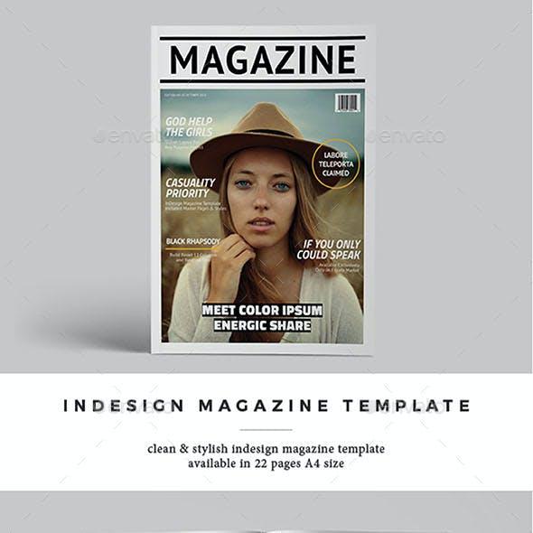 InDesign Magazine Template Vol.2