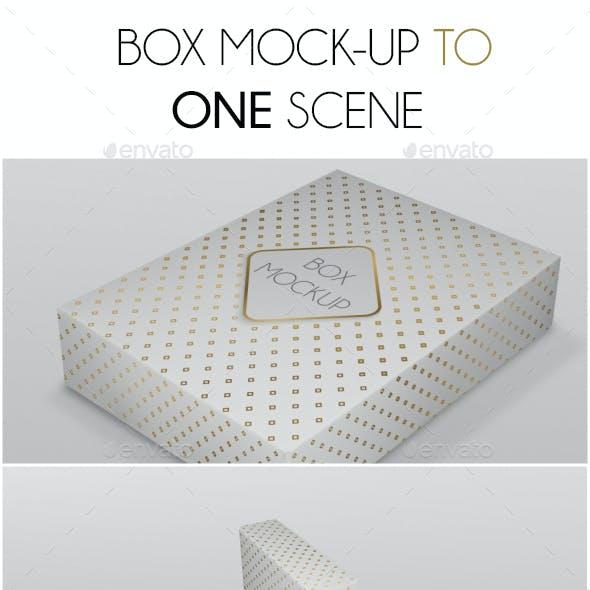 Box Mockup Scene