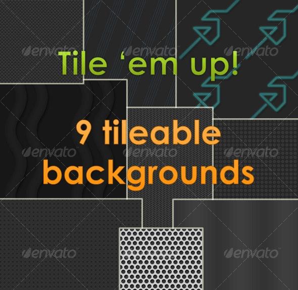 Tile 'em up! Pack 1 - Patterns Backgrounds