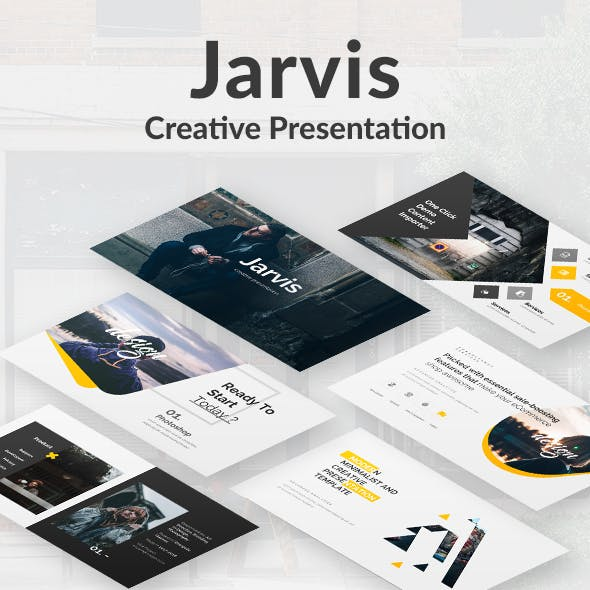 Jarvis Creative Powerpoint Template