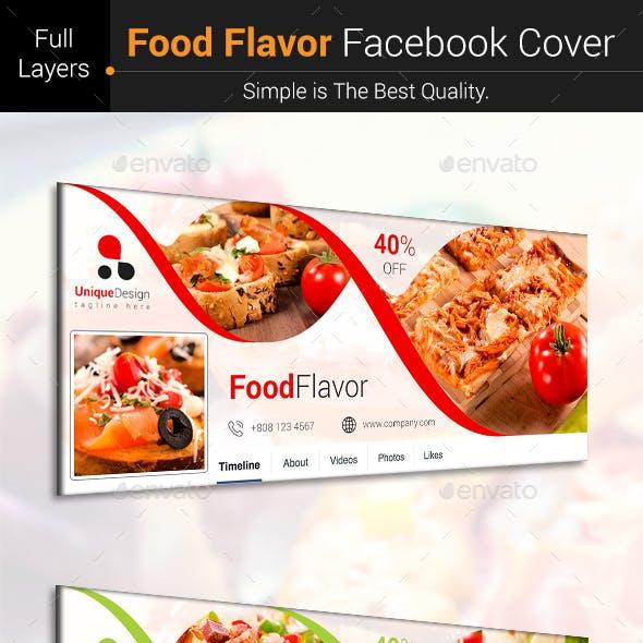 Food Flavor Facebook Cover