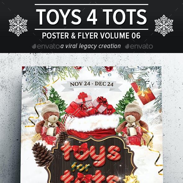 Toys 4 Tots Flyer / Poster V06