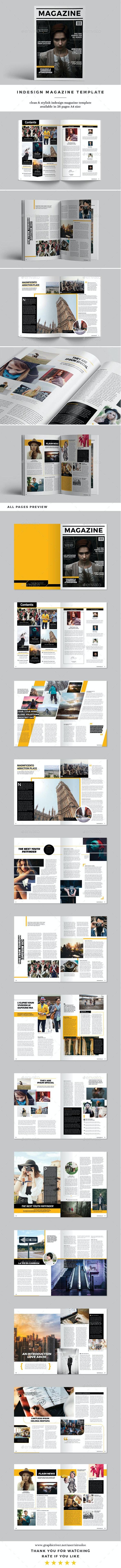 InDesign Magazine Vol.3 - Magazines Print Templates
