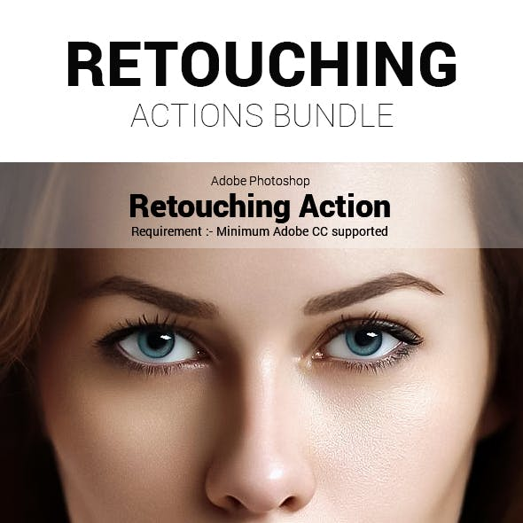 Retouching Action Bundle