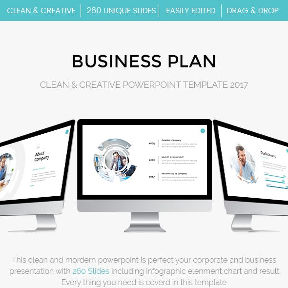 Bundle 2 in 1 Startup Business Powerpoint Template