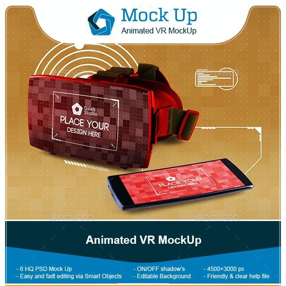 Animated VR MockUp