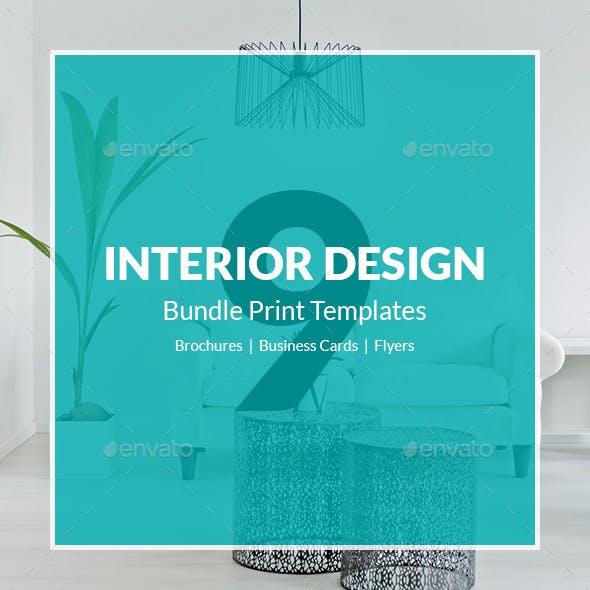 Interior Design – Bundle Print Templates 9 in 1