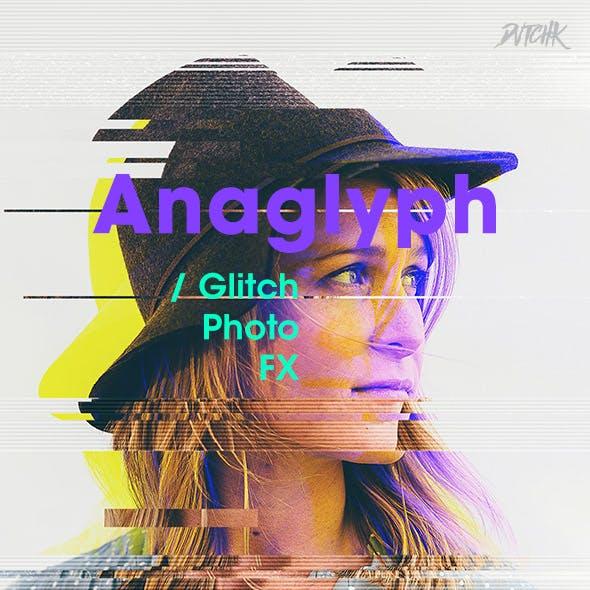 Anaglyph - Glitch Photo FX