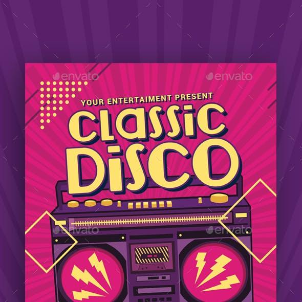 Classic Disco Radio Flyer