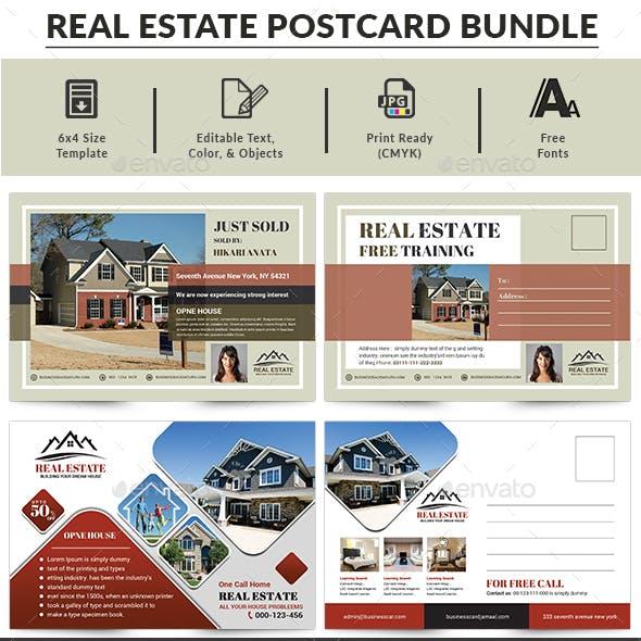 Real Estate Postcard Bundle