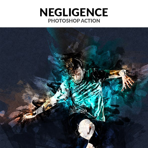 Negligence Photoshop Action