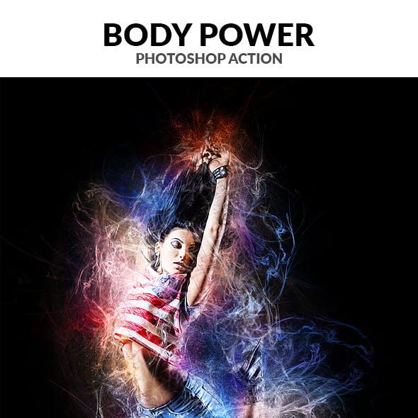 Body Power Photoshop Action