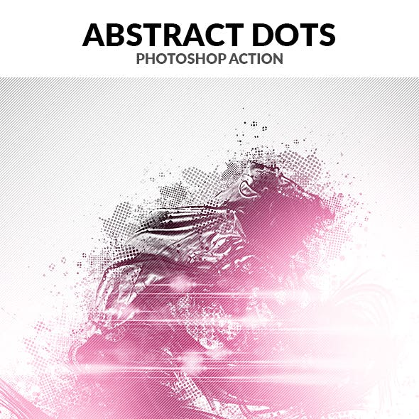 Abstract dots Photoshop Action