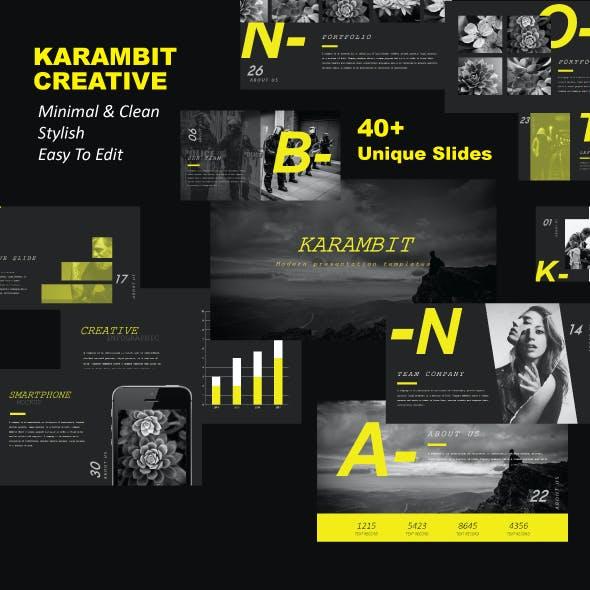 Karambit Keynote Templates