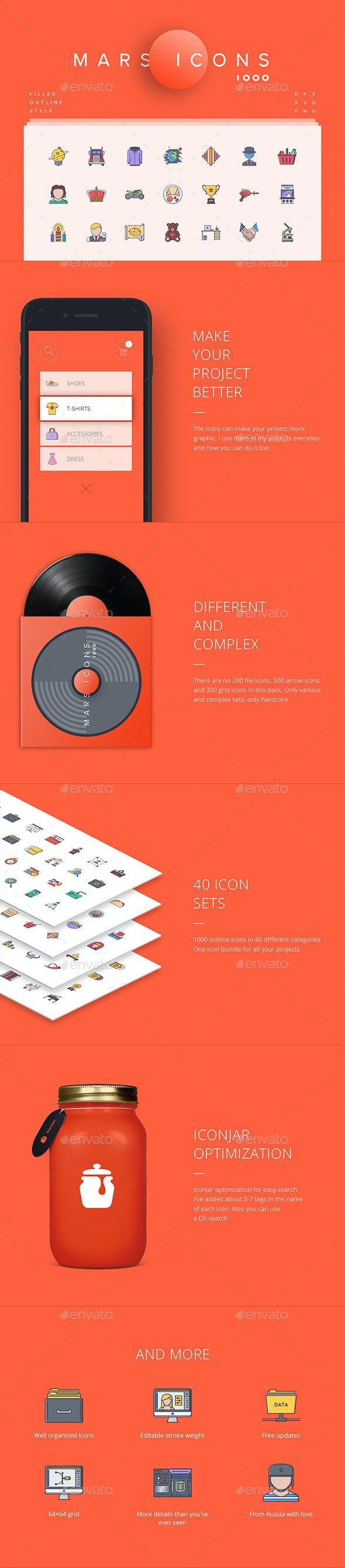 Mars Icons - Icons