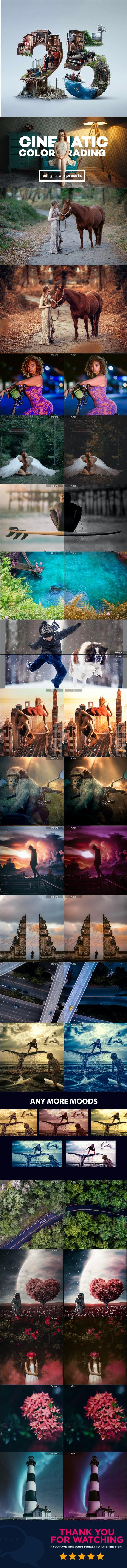 25 Cinematic Color Grading Lightroom Presets - Cinematic Lightroom Presets