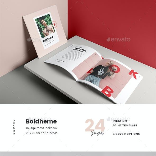 Boldheme / Modern Lookbook & Catalog