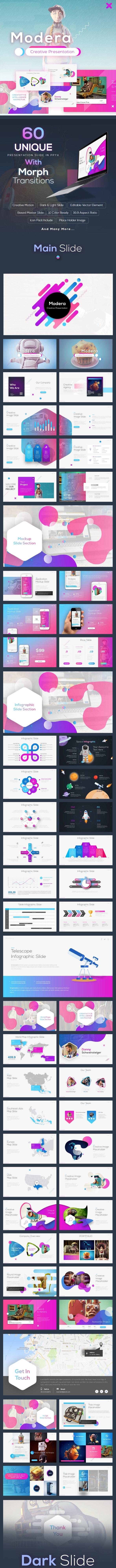 Modera - Creative Presentation - Business PowerPoint Templates