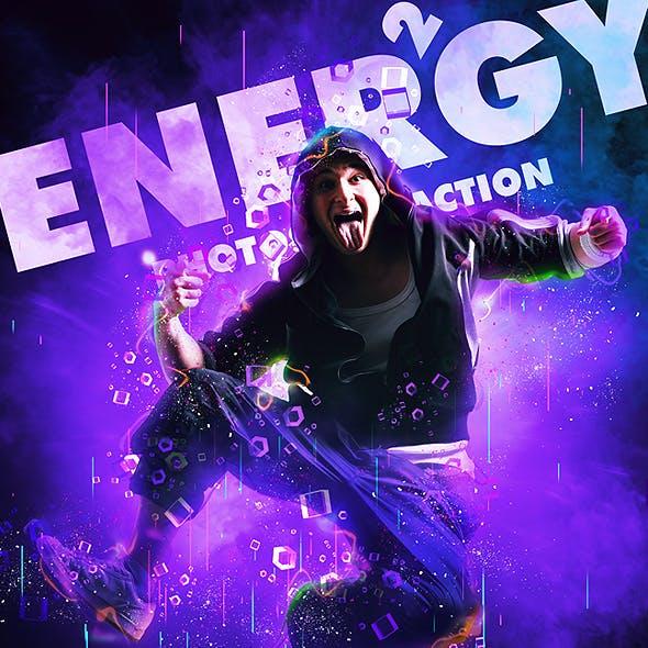 Energy 2 Photoshop Action