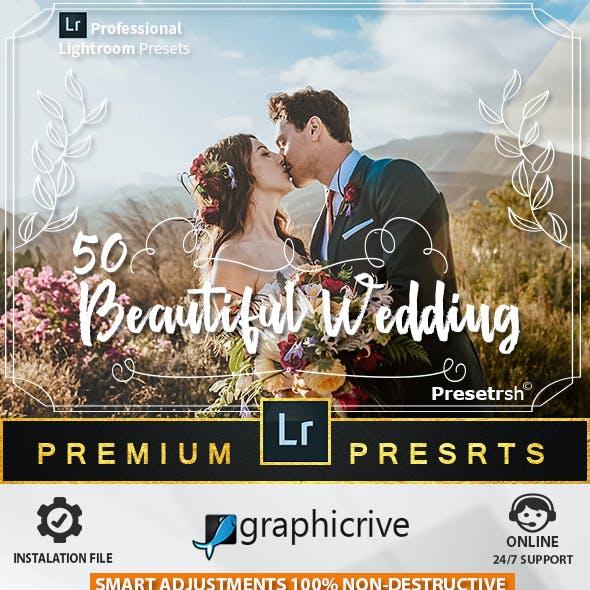 50 Pro Wedding Presets