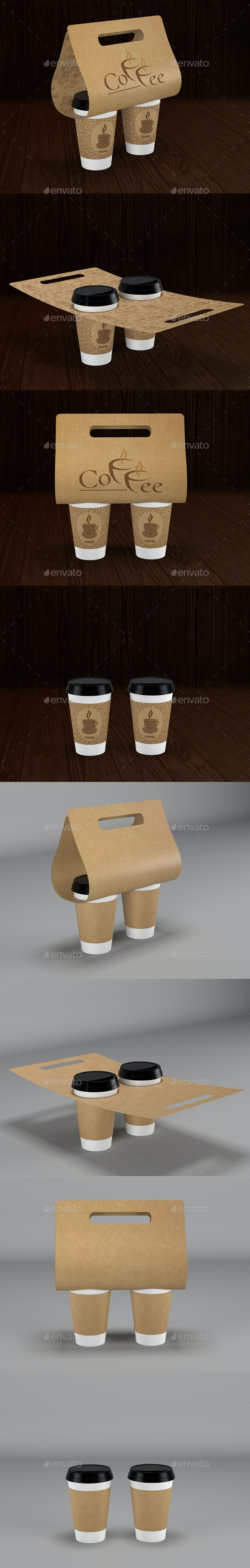 Coffee Cup - Product Mock-Ups Graphics