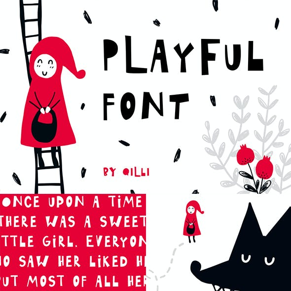 Playful - Display typeface