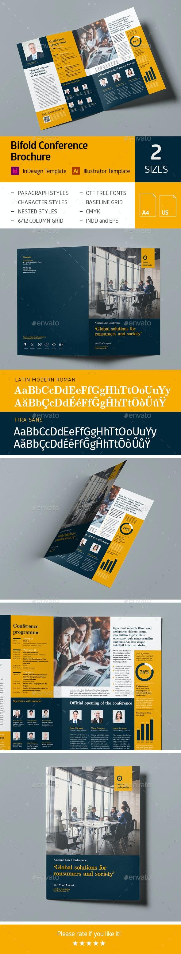 Bifold Conference Brochure - Corporate Brochures