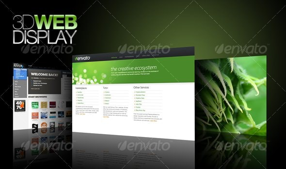3d Web Display - Miscellaneous Web Elements