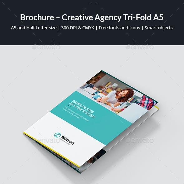Brochure – Creative Agency Tri-Fold A5