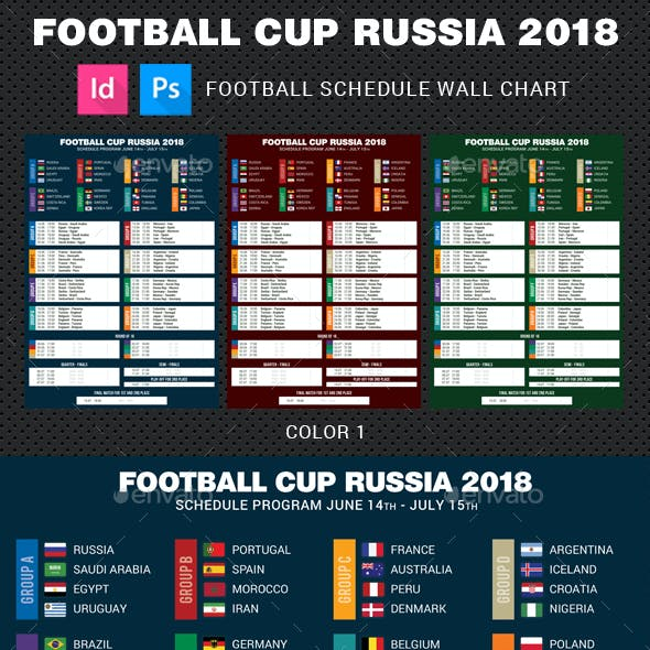 Football Cup Russia 2018 Schedule