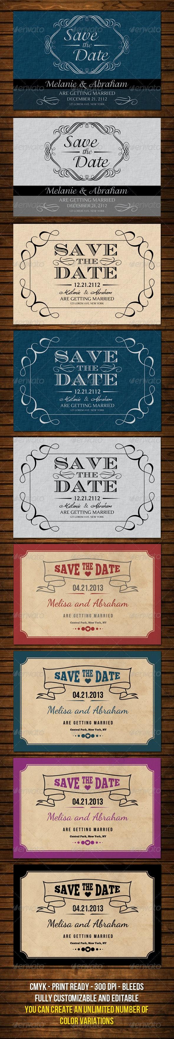 Wedding Cards Bundle v1 - Weddings Cards & Invites