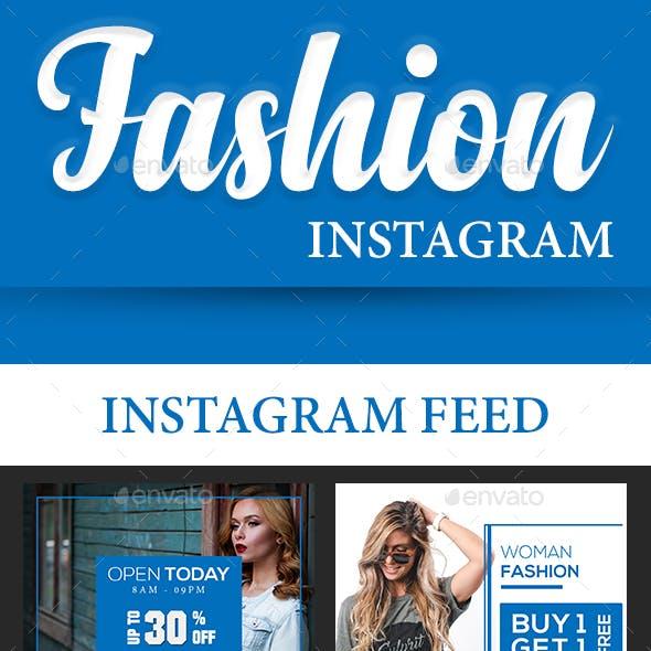 Fashion Instagram (Feed + Stories) v2