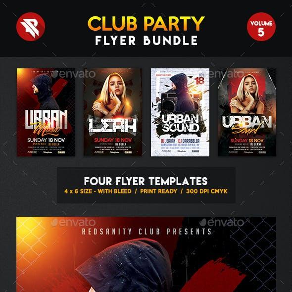 Club Flyer Bundle Vol.5