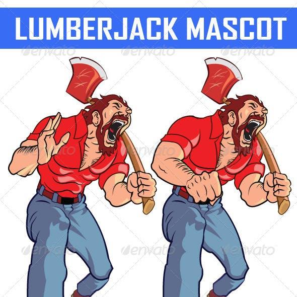 Lumberjack Mascot