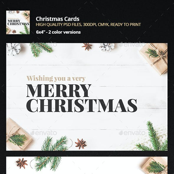 2in1 Christmas Greeting Card