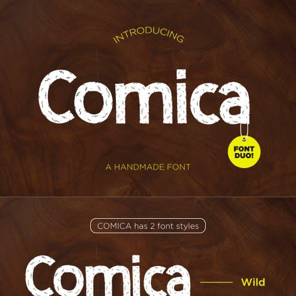 Comica - Font Duo