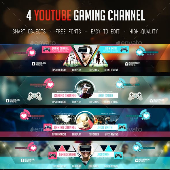 Gaming Channel Youtube Banner